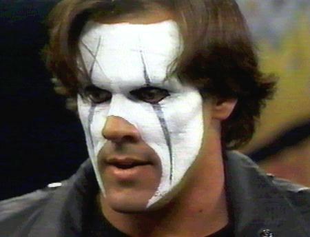 Wrestler Sting Face Paint