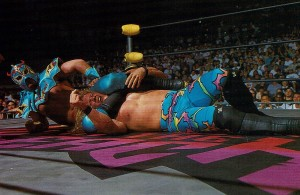Ultimo Dragon: the original scarf of Jericho