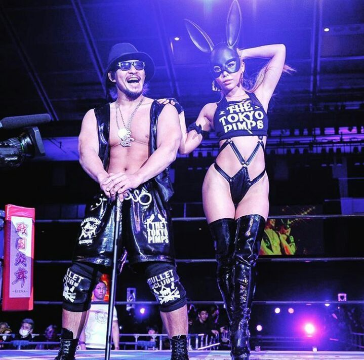 Sleazy ring wrestling